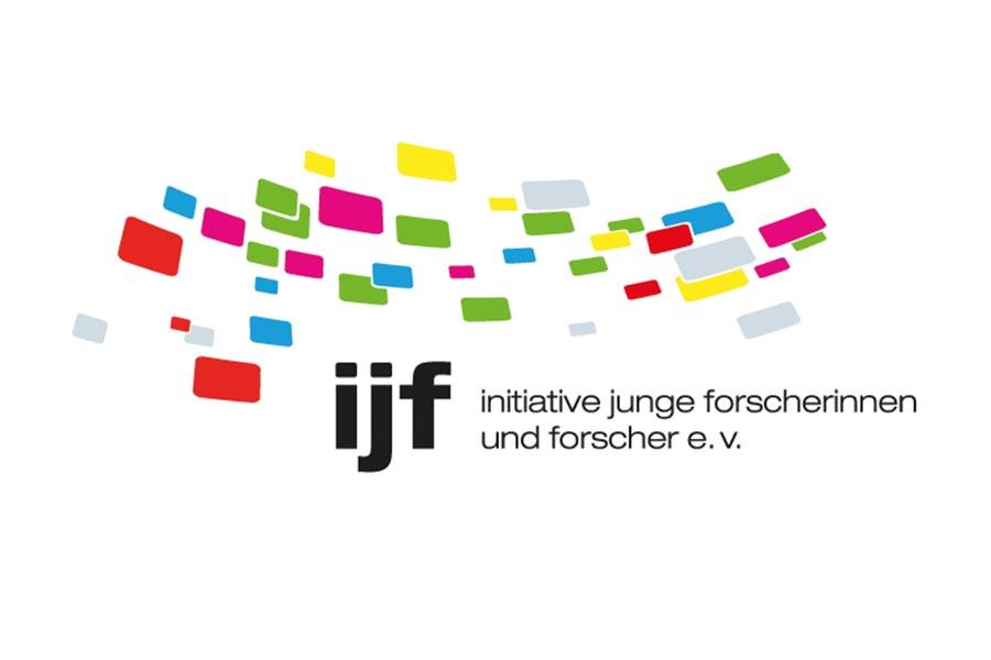 Logo ijf – initiative junge Forscherinnen und Forscher e.V.