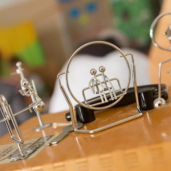 Spielmobil Bayreuth – Resultate aus Draht