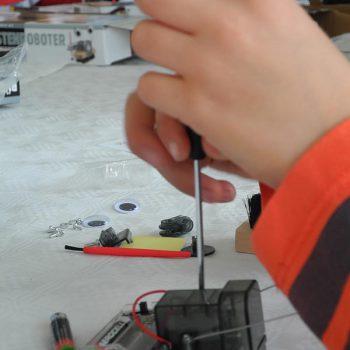 VDIni Club Bayreuth – Kinder werkeln