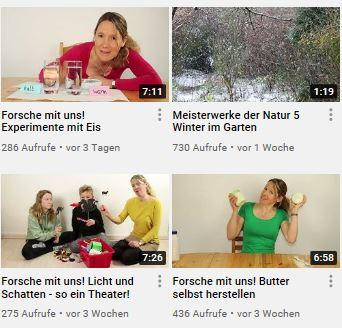 Screenshot des Youtube Kanals der GUB e.V.