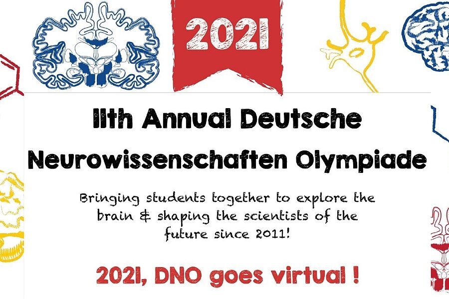 Ankündigung zur Neurowissenschaften Olympiade 2021