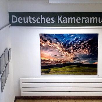 In der Museumsgalerie gibt es ständig wechselnde Fotoausstellungen zu bewundern.