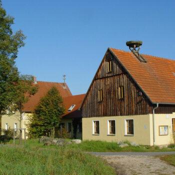 Außenansicht der Umweltstation Lindenhof in Bayreuth