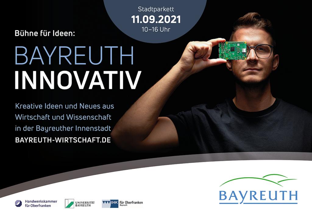 Plakat Bayreuth Innovativ